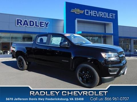 2017 Chevrolet Colorado for sale in Fredericksburg VA
