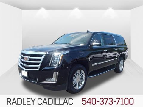 2017 Cadillac Escalade ESV for sale in Fredericksburg VA
