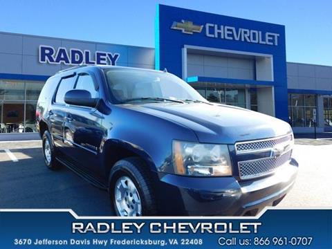 2007 Chevrolet Tahoe for sale in Fredericksburg VA