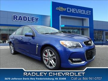 2017 Chevrolet SS for sale in Fredericksburg, VA