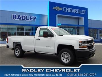 Chevrolet Trucks For Sale Fredericksburg Va Carsforsale Com