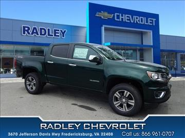 Chevrolet Colorado For Sale Fredericksburg Va