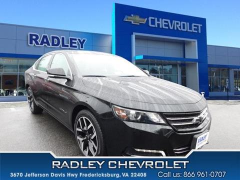 2017 Chevrolet Impala for sale in Fredericksburg, VA