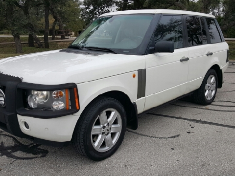 2004 Land Rover Range Rover for sale in Austin, TX