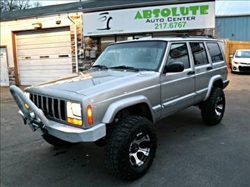 2001 jeep cherokee for sale for Corn motors everett wa