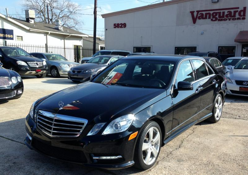 2012 mercedes benz e class 350 sport in houston tx vanguard motors. Black Bedroom Furniture Sets. Home Design Ideas