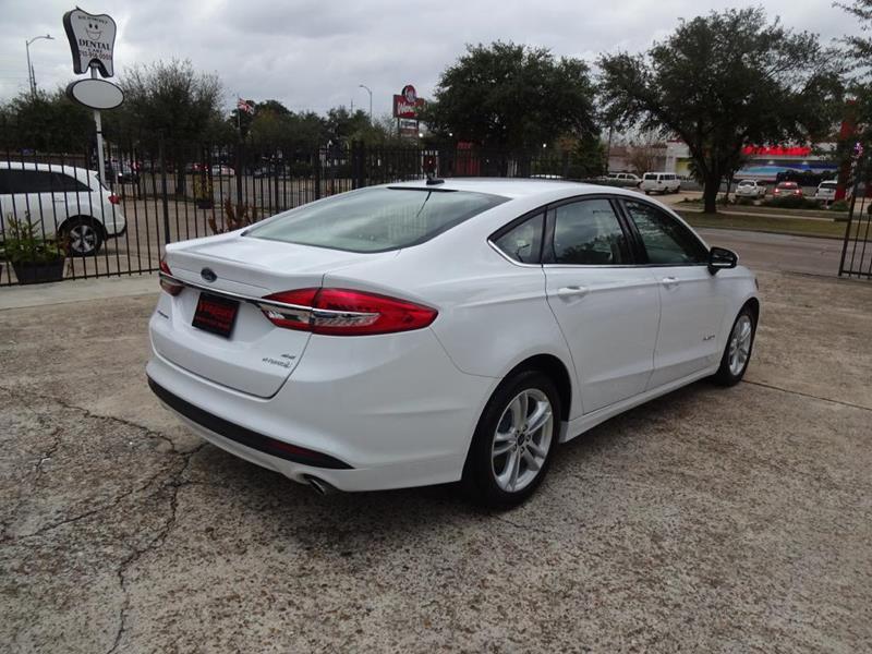 2018 Ford Fusion Hybrid SE 4dr Sedan In Houston TX - VANGUARD MOTORS