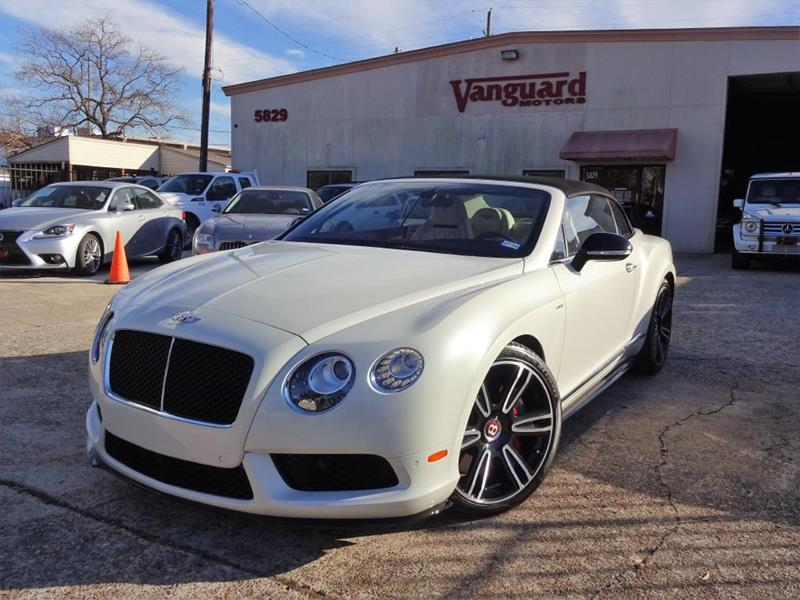 2015 Bentley Continental AWD GT V8 S 2dr Convertible In Houston TX ...