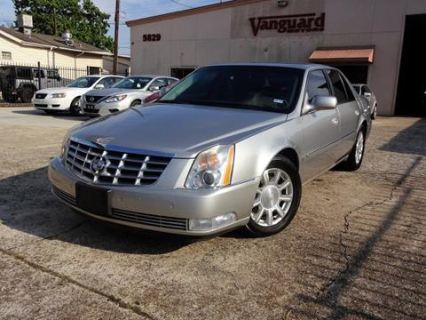 2006 Cadillac DTS for sale in Houston, TX