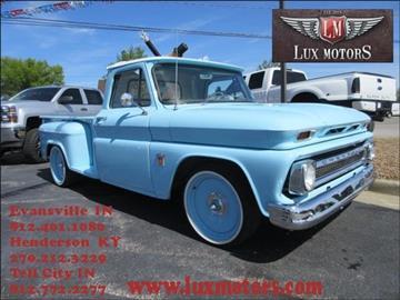 1964 chevrolet c k 10 series for sale for Lux motors evansville in