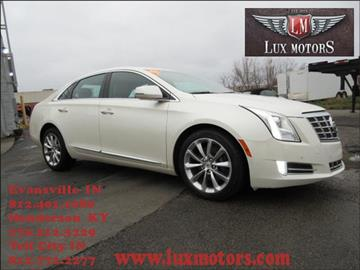 Used cadillac xts for sale in indiana for Lux motors evansville in