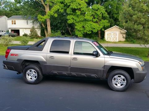 2003 chevrolet avalanche for sale in lawton ok. Black Bedroom Furniture Sets. Home Design Ideas