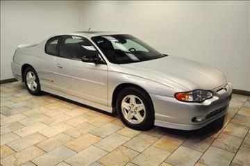 2001 Chevrolet Monte Carlo for sale in Paterson, NJ