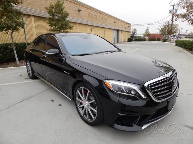 Used 2015 mercedes benz s class s63 amg in lake dallas tx for Mercedes benz dealers in texas
