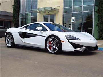 2016 McLaren 570S Coupe for sale in Dallas, TX