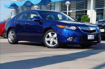 2013 Acura TSX for sale in Dallas, TX