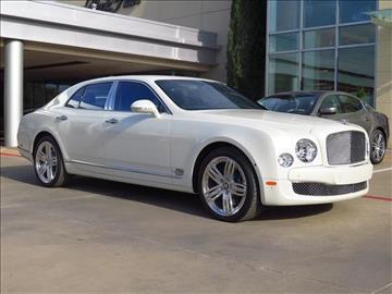 2016 Bentley Mulsanne for sale in Dallas, TX