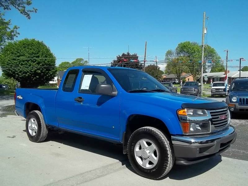 2008 Gmc Canyon Sle 4dr Extended Cab 4x4 Sb In Greencastle