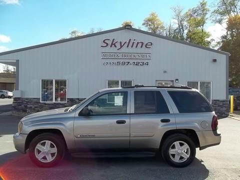 2003 Chevrolet TrailBlazer for sale in Greencastle, PA