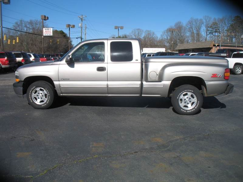 2000 chevrolet silverado 1500 3dr lt 4wd extended cab stepside sb in stanley nc black 39 s auto sales. Black Bedroom Furniture Sets. Home Design Ideas
