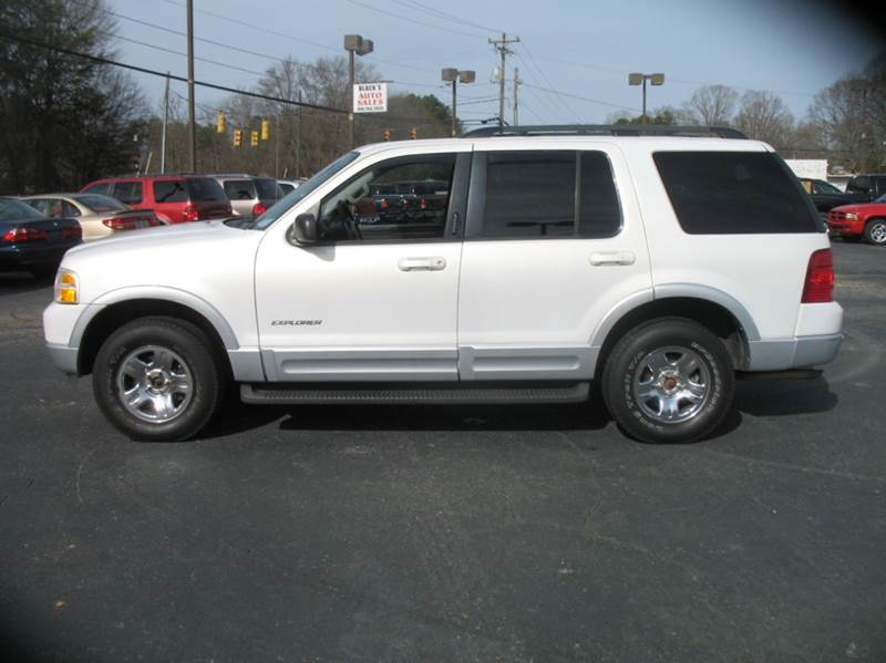 Ford Explorer Limited WD Dr SUV In Stanley NC BLACKS - 2002 explorer