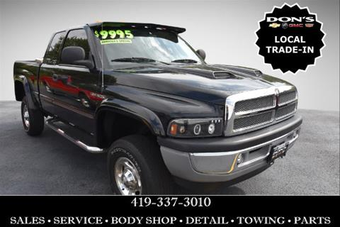 2002 Dodge Ram Pickup 2500 for sale in Wauseon, OH