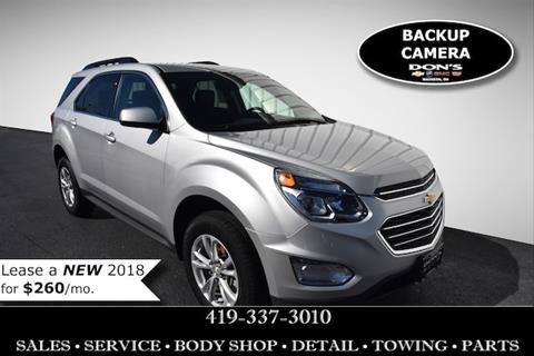 2017 Chevrolet Equinox for sale in Wauseon, OH