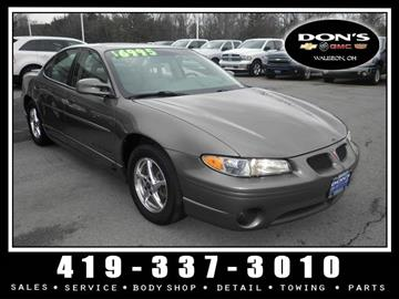 2003 Pontiac Grand Prix for sale in Wauseon, OH