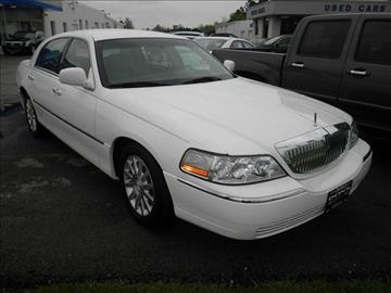 2007 Lincoln Town Car for sale in Wauseon, OH