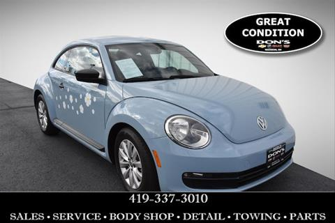 2015 Volkswagen Beetle for sale in Wauseon, OH