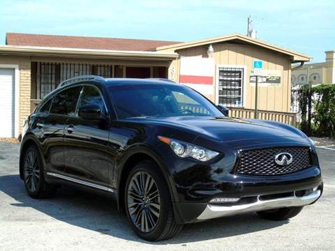 2017 Infiniti QX70 for sale in Fort Lauderdale, FL