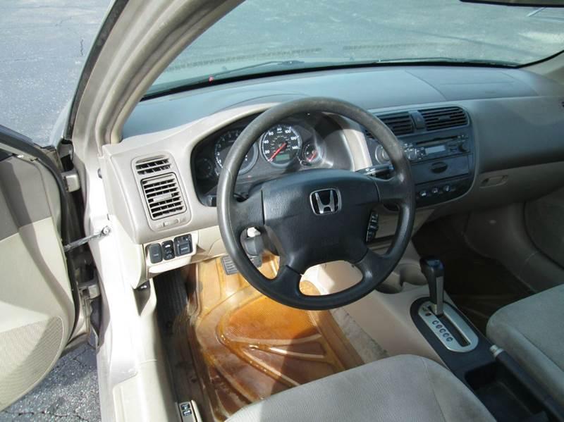 2001 Honda Civic EX 4dr Sedan - Lorain OH