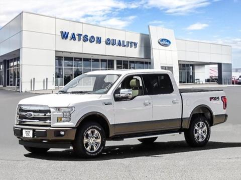 2017 Ford F-150. Email for miles miles. Special $51245 & Watson Quality Ford - Used Cars - Jackson MS Dealer markmcfarlin.com