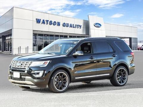 2017 Ford Explorer ... : watson ford used cars - markmcfarlin.com