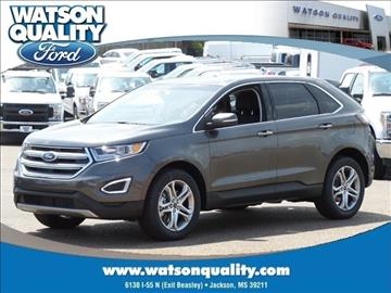 2017 Ford Edge for sale in Jackson, MS