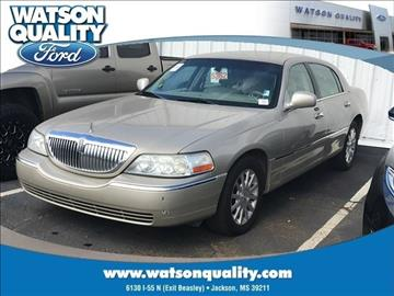 2006 Lincoln Town Car for sale in Jackson, MS