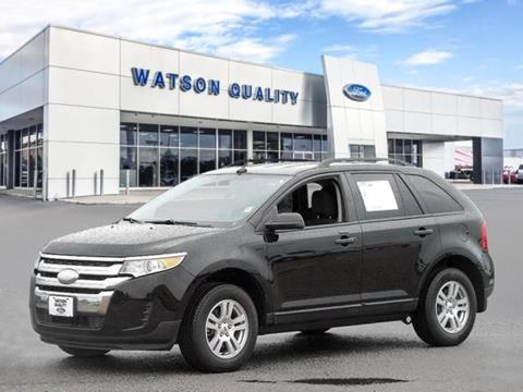 2012 Ford Edge ... & Used Cars Jackson Auto Financing Brandon Madison Watson Quality Ford markmcfarlin.com