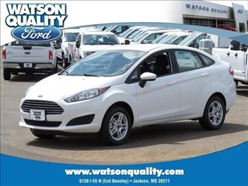 2017 Ford Fiesta for sale in Jackson, MS