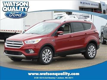2017 Ford Escape for sale in Jackson, MS