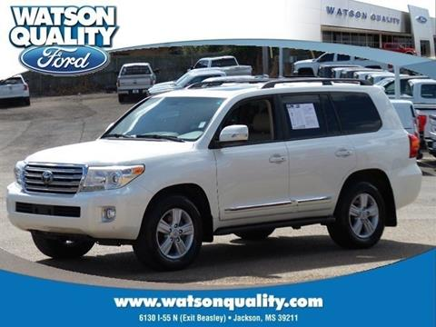 2013 Toyota Land Cruiser for sale in Jackson, MS