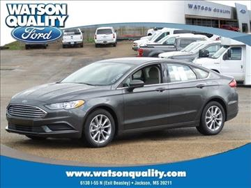 2017 Ford Fusion for sale in Jackson, MS