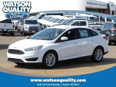 2017 Ford Focus ... & Used Cars Jackson Auto Financing Brandon Madison Watson Quality Ford markmcfarlin.com