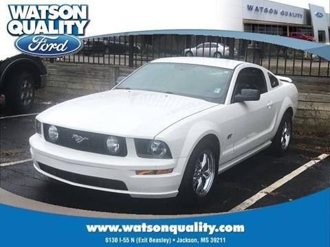 2005 Ford Mustang ... & Used Cars Jackson Auto Financing Brandon Madison Watson Quality Ford markmcfarlin.com