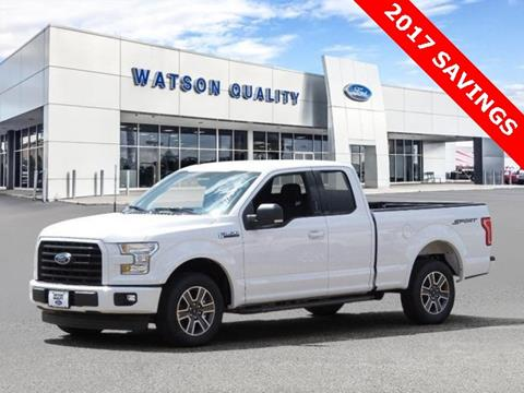 2017 Ford F-150 ... & Used Cars Jackson Auto Financing Brandon Madison Watson Quality Ford markmcfarlin.com