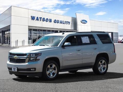 2015 Chevrolet Tahoe ... & Used Cars Jackson Auto Financing Brandon Madison Watson Quality Ford markmcfarlin.com