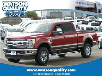 2017 Ford F-250 Super Duty for sale in Jackson, MS