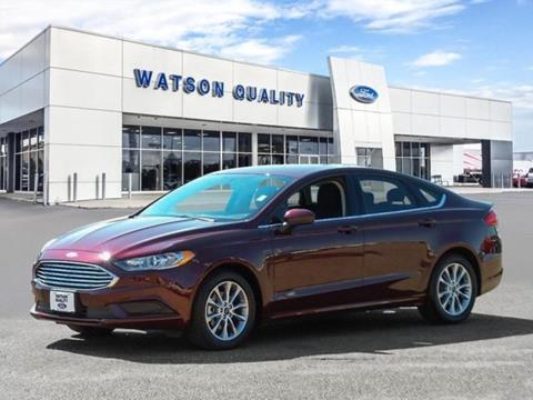 2017 Ford Fusion ... & Used Cars Jackson Auto Financing Brandon Madison Watson Quality Ford markmcfarlin.com