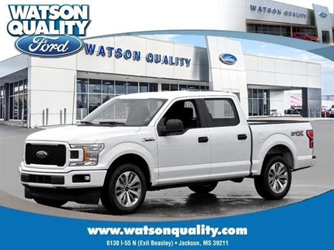 2018 Ford F-150 ... & Used Cars Jackson Auto Financing Brandon Madison Watson Quality Ford markmcfarlin.com