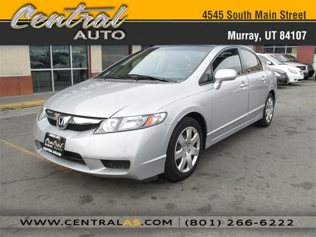 used 2010 honda civic lx 4dr 5a in murray ut at central