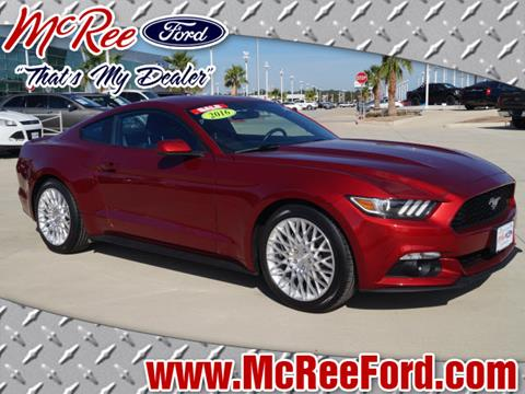 2016 Ford Mustang for sale in Dickinson, TX